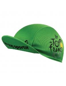 Кепка велосипедная tour de france, зеленая