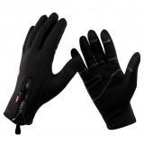 """Непродуваемые велосипедные перчатки зимние неопреновые FLL """"Windstopper"""""""
