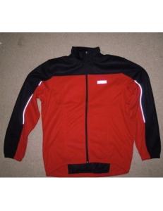 Термо куртка Shamp, термик на флисе красно-черный