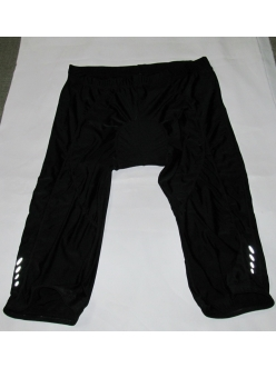 Велотрусы Crivit sport черные, капри 3/4, модель 73026