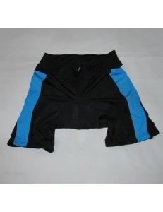 Велотрусы Crivit sport женские черные с синим, модель 88683