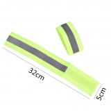 Ленты-отражатели Velcro, со светоотражающими полосами, 2 шт
