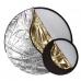 Фото отражатель, рефлектор, лайт-диск круглый 2 в 1, 80 см
