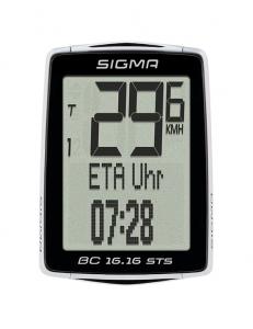 Велокомпьютер Sigma BC 16.16 STS/CAD