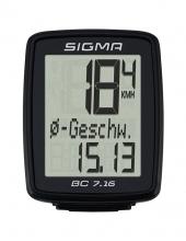Велокомпьютер Sigma Sport BC 7.16 проводной