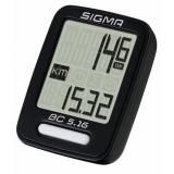Велокомпьютер Sigma Sport BC 5.16 проводной