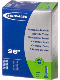 Камера Schwalbe AV13 26x1.5-2.5