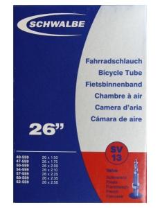 Камера Schwalbe SV13 26x1.5-2.5 Presta