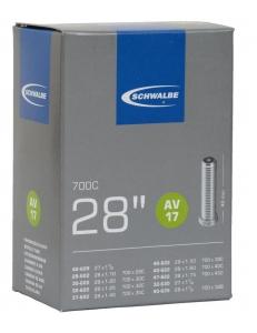 Камера Schwalbe AV17 28/47-622/635 28 x 1.1-1.75 40mm Schrader