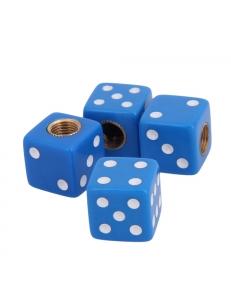 Колпачок на ниппель игральные кости, синие