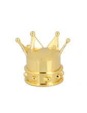 Колпачок на ниппель Корона, золото