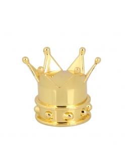 Колпачок на ниппель черная Корона