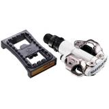 Контактные педали МТБ Shimano PD-M520 + накладка