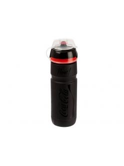 Фляга Elite Scalatore Coca-Cola Design, черная 750 мл
