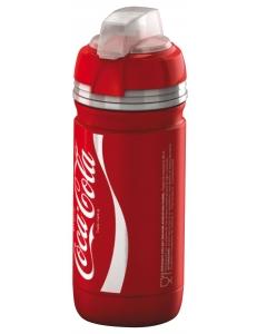 Фляга Elite Scalatore Coca-Cola Design, красная 550 мл