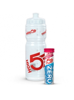 High5 - Бутылка 750 мл и 10 таблеток изотоника со вкусом клубники