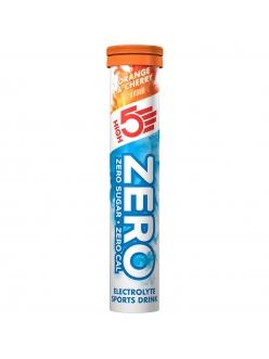High5 - Электролитический напиток Zero - 20 таблеток, вишня-апельсин