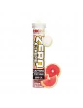 High5 - Электролитический напиток Zero Xtreme - 20 таблеток, грейпфрут, с кофеином