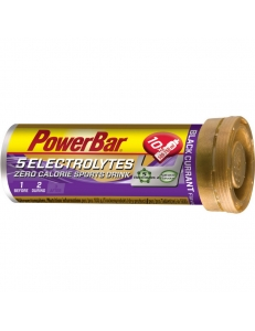 Спортивный напиток PowerBar 5Electrolytes в таблетках, черная смородина