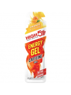 High5 - Гель EnergyGel со вкусом апельсина 40г + кофеин