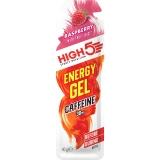 High5 - Гель EnergyGel со вкусом малины 40г + кофеин