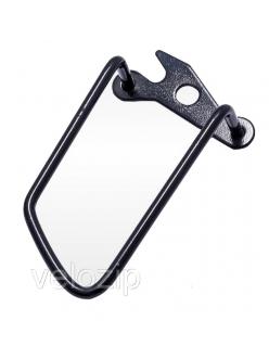 Защита заднего переключателя, большая, с креп.на раму (под ось)