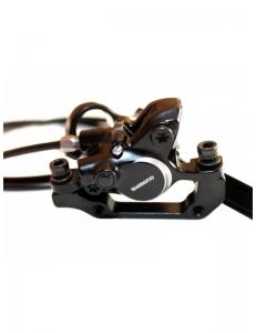 Гидравлический тормоз Shimano BR-M315, комплект предний + задний
