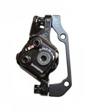 Дисковый тормоз - Shimano BR-M375-L, задний, под ротор 160мм