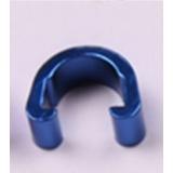 Клипсы C-Clip, алюминий, для гидролиний, рубашек, синий