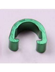 Клипсы C-Clip, алюминий, для гидролиний, рубашек, зеленый