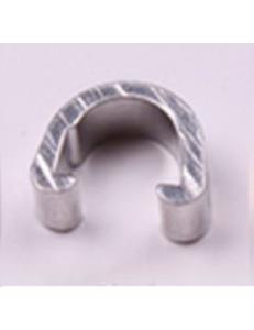 Клипсы C-Clip, алюминий, для гидролиний, рубашек, серебро