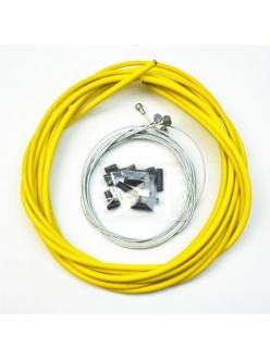 Комплект тросиков/рубашек Jagwire CEX/LEX, тормоза+переключатели