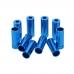 Законцовка рубашки - AL6061 (для переключения), синяя
