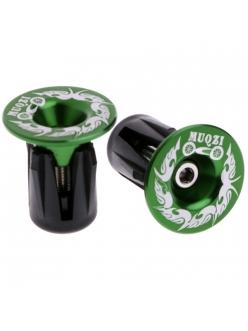 Комплект заглушек MUQZI 2 шт., зеленые