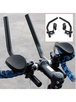 Лежак на руль велосипеда с подлокотниками, триатлон.
