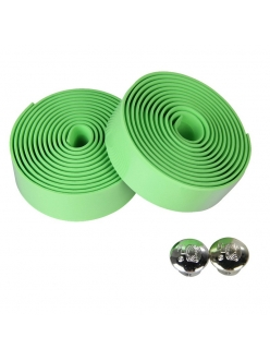 Обмотка руля велосипеда KIVI, цвет зеленый