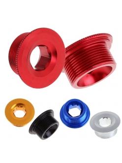 Shimano - Болт левого шатуна Hollowtech II, алюминий, цветной