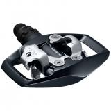 Контактные педали Shimano PD-E500 черные + шипы