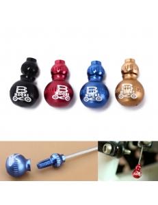 Законцовка троса NON-CRIMP многоразовая, шар, резьба, переключение, цветная алюм.