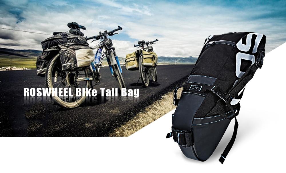 a48a8d463e36 Туристическая подседельная сумка от Roswhell 131414, совместимая  практически с любыми велосипедами. Разработана в качестве альтернативы  сумкам на багажник ...
